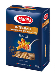Barilla Integrale Whole Wheat Fusilli, 3 Boxes x 500g