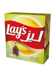 Lay's Salt & Vinegar Potato Chips, 14 Packs x 23g