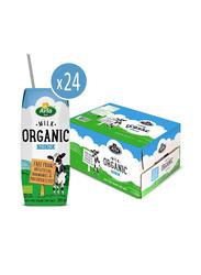 Arla Organic Full Fat Milk, 24 x 200ml