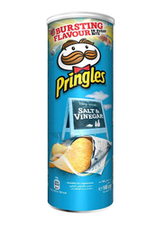 Pringles Salt & Vinegar Chips, 4 Cans x 165g