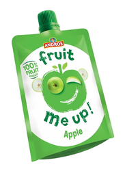 Andros Fruit Me Up Green Apple Fruit Juice, 4 Pouches x 90g