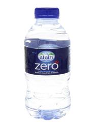 Al Ain Zero Sodium Free Bottled Drinking Water, 24 Bottles x 330ml