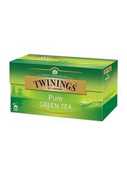 Twinnings Pure Green Tea, 2 Boxes x 25 Tea Bags x 2g