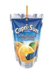 Capri Sun Orange Juice Drink, 10 Pouches x 200ml