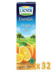 Lacnor Essentials Orange Juice, 32 x 180ml