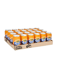 Fanta Orange Soft Drink, 24 Cans x 330ml