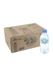 Al Ain Bottled Drinking Water, 24 Bottles x 330ml