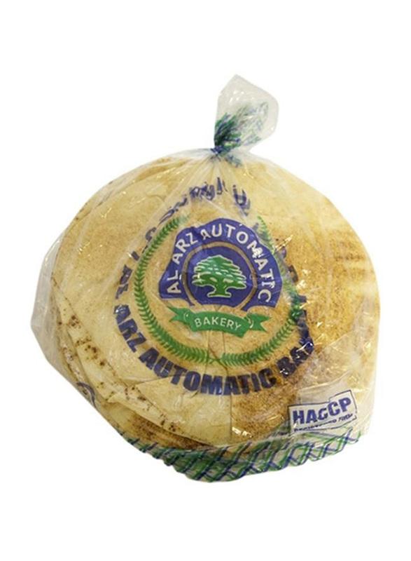 Al Arz Bakery Brown Arabic Bread, Large, 2 Packs