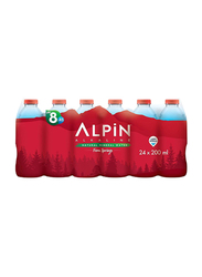 Alpin Natural Mineral Spring Water, 24 Bottles x 200ml
