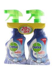 Dettol Healthy Bathroom Power Cleaner, 2 Bottles x 500ml