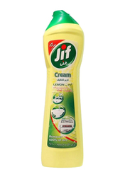 JIF Lemon Microparticles Kitchen Cream Cleaner, 2 Bottles x 500ml