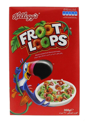 Kellogg's Froot Loops Mix Fruit Cereal, 2 Boxes x 350g
