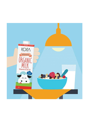 Koita Low Fat Organic Cow Milk, 12 x 1 Liter