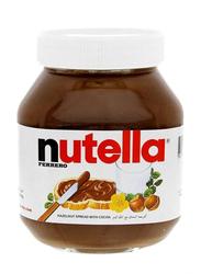 Nutella Ferrero Cocoa Hazelnut Spread, 2 Jars x 750g