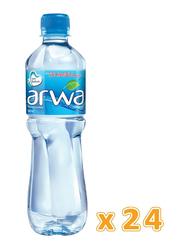 Arwa Bottled Drinking Water, 24 Bottles x 500ml