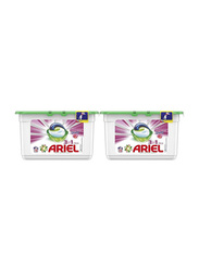 Ariel 3-in-1 Downy Touch of Freshness Laundry Detergent Pods, 2 Boxes x 15 Pods