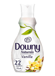 Downy Naturals Concentrate Vanilla Scent Fabric Softener, 4 Bottles x 880ml