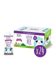 Koita Lactose-Free Organic Cow Milk, 24 x 200ml