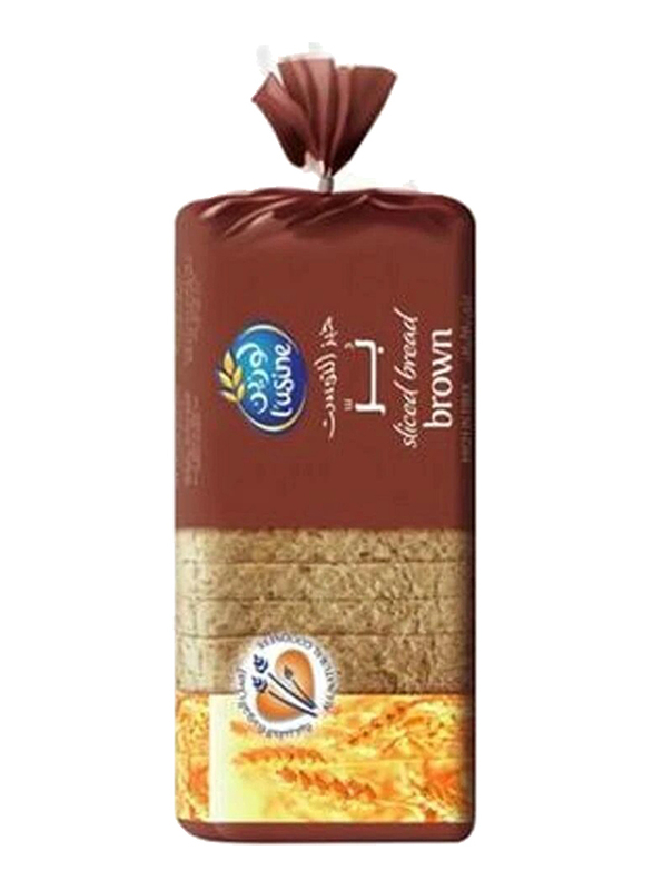 Lusine Sliced Brown Bread, 2 Packs x 600g