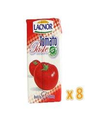 Lacnor Tomato Paste, 8 x 130g