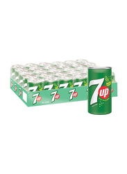 7 Up Soft Drink, 30 Cans x 155ml