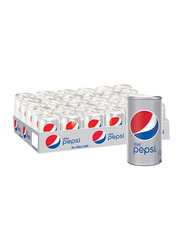 Pepsi Diet Soft Drink, 30 Cans x 155ml