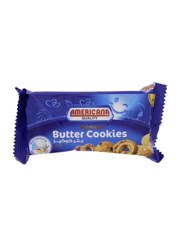 Americana Premium Butter Cookies, 12 Packs x 44g