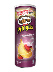 Pringles Barbeque Chips, 4 Cans x 165g