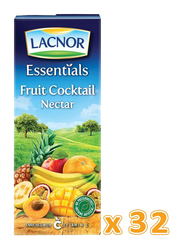Lacnor Essentials Cocktail Juice Drink, 32 x 180ml