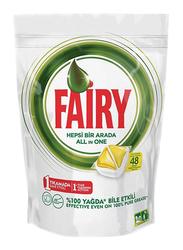 Fairy Original All-in-One Regular Dishwasher Tablets, 48 Tablets