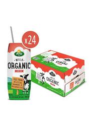 Arla Organic Low Fat Milk, 24 x 200ml