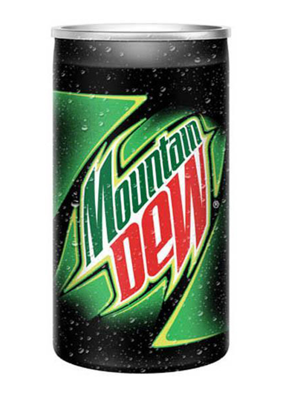 Mountain Dew Soft Drink, 30 Cans x 150ml