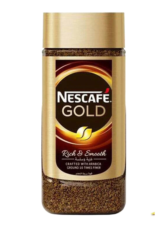 Nescafe Gold Instant Coffee, 2 Jar x 200g