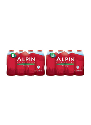 Alpin Natural Mineral Spring Water, 24 Bottles x 330ml