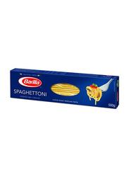 Barilla Spaghettoni No.7 Semolina Pasta, 5 Boxes x 500g
