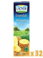 Lacnor Essentials Pineapple Juice, 32 x 180ml