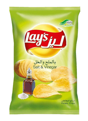 Lay's Salt & Vinegar Potato Chips, 2 Packs x 170g