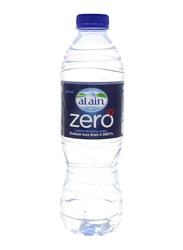 Al Ain Zero Sodium Free Bottled Drinking Water, 24 Bottles x 500ml
