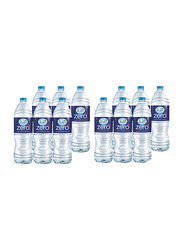 Al Ain Zero Sodium Free Bottled Drinking Water, 12 Bottles x 1.5 Liter