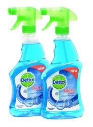 Dettol Glass Cleaner, 2 Bottles x 500ml