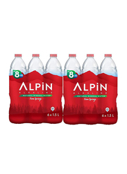Alpin Natural Mineral Spring Water, 12 Bottles x 1.5 Liter