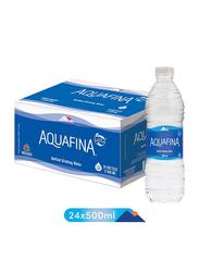 Aquafina Bottled Drinking Water, 24 Bottles x 500ml