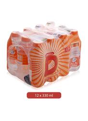Al Ain Plus Vitamin D The Sunshine Mineral Water, 12 Bottles x 330ml