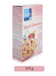 Kolln Muesli Yogurt Strawberry and Oats, 375g