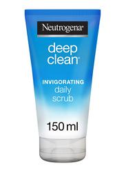 Neutrogena Deep Clean Invigorating Facial Scrub, Normal to Combination Skin, 150ml