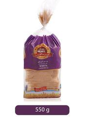 Al Jadeed White Large Sliced Bread, 500g