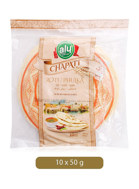 Aly Chapati, 10 Pieces, 50g