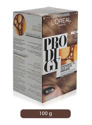L'Oreal Paris Prodigy Permanent Oil Hair Color, 7.0 Almond Blonde, 100gm