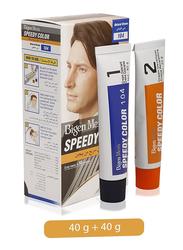 Bigen Men's Speedy Hair Color, 104 Natural Brown, 80gm