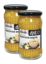 Union Premium Mustard Dijon, 2 Glass Jars x 290g